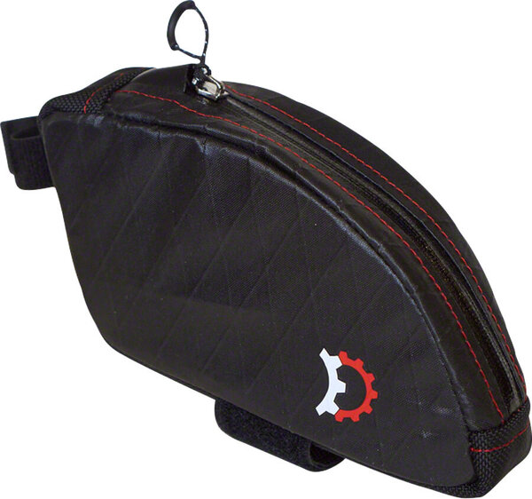 Revelate Designs Jerrycan Top-tube/Seatpost Bag, Bent, Black