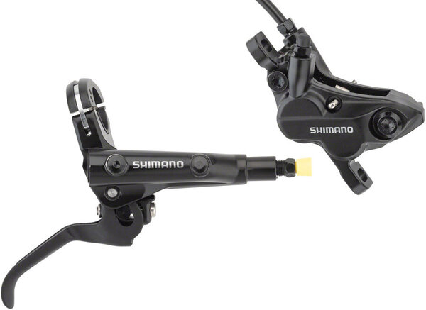 Shimano Deore BL-MT501/BR-MT520 Disc Brake and Lever - Rear, Hydraulic, Post Mount, Black