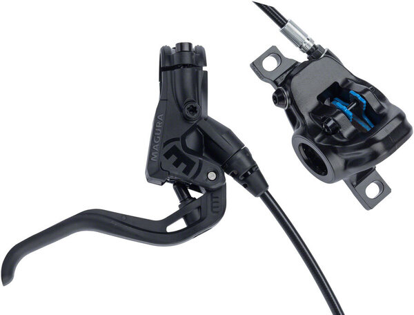 Magura MT Sport Disc Brake and Lever - Front or Rear, Hydraulic, Post Mount, Black