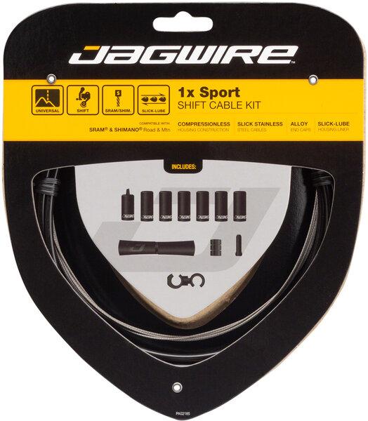 Jagwire 1x Sport Shift Cable Kit SRAM/Shimano, Black