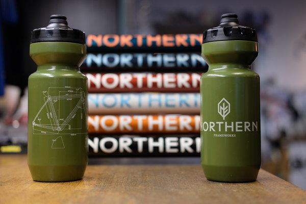 Specialized Northern Frameworks Bottle - Olive - 22oz