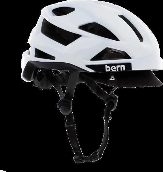 Bern FL-1 Pave Bike Helmet (with visor)