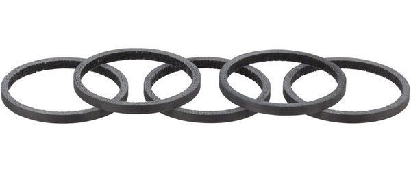 Whisky Parts Co. No.7 Carbon Headset Spacers - 5-Pack