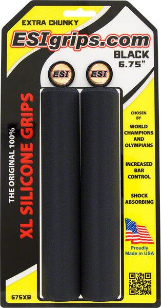 ESI XL Extra Chunky Grips - Black