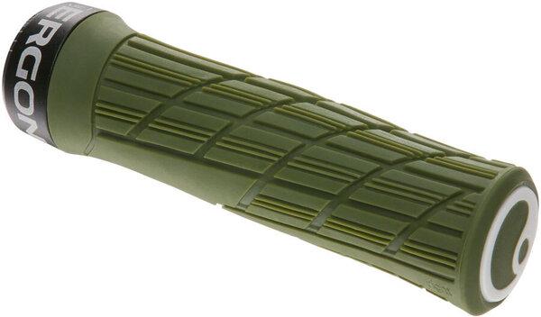 Ergon GE1 Evo Grips - Deep Moss, Lock-On