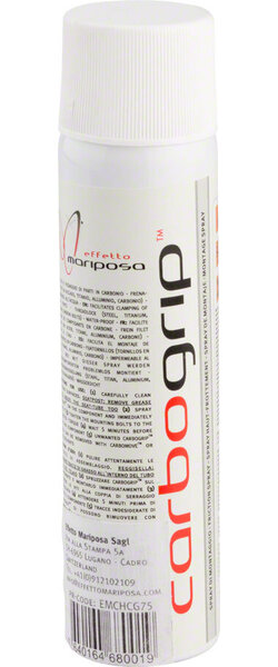 Effetto Mariposa Carbogrip Carbon Component-Assembly Compound 75ml, Aerosol
