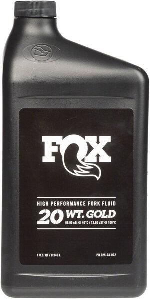 Fox 20 Weight Gold Bath Oil - 32oz