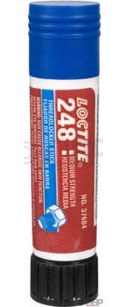 Loctite #248 Threadlocker Medium Strength for fastners 6-20mm, Oil resistant: 9 Gram Stick