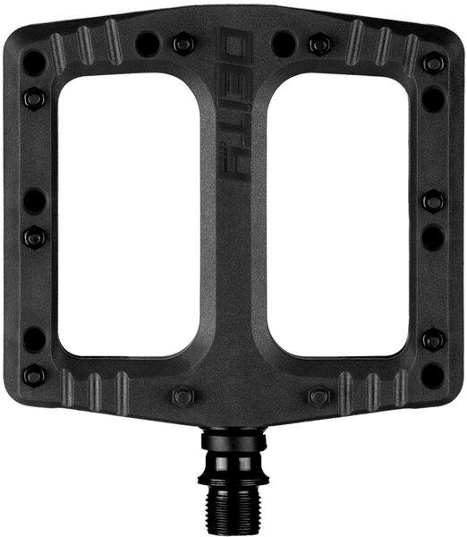 """Deity Components Deftrap Pedals - Platform, Composite, 9/16"""", Black"""