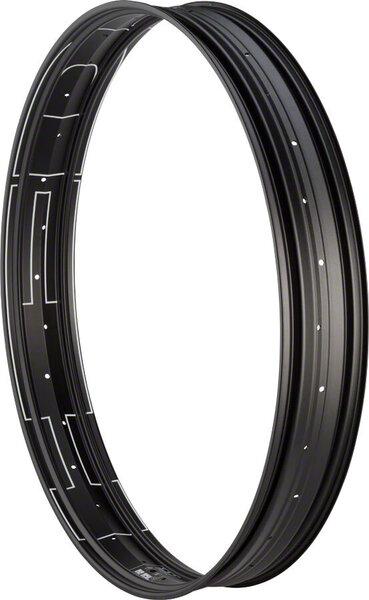 """HED B.A.D Big Aluminum Deal Rim - 27.5"""", Disc, Black, 32H, Clincher"""