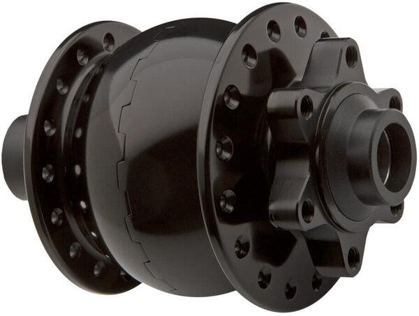 Schmidt SON 28 - 15 x 110mm - 32 hole - ISO Disc Hub - Black Anodized