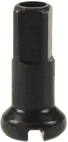 DT Swiss Standard Spoke Nipples - Aluminum, 2.0 x 12mm, Black, Box of 100