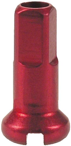 DT Swiss Standard Spoke Nipples - Aluminum, 2.0 x 12mm, Red, Box of 100