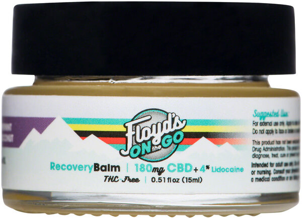 Floyd's of Leadville CBD Lavender Balm: Isolate (THC Free), 180mg, 15ml Container