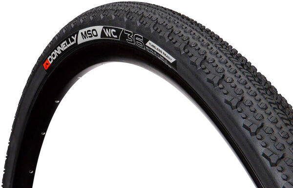 Donnelly Cycling X'plor MSO WC Tire - 700 x 36, Clincher, Black