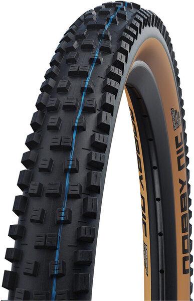 "Schwalbe Nobby Nic Tire - 29 x 2.35"", Tubeless, Folding, Black/Tan, Evolution Line, Addix SpeedGrip, Super Ground"
