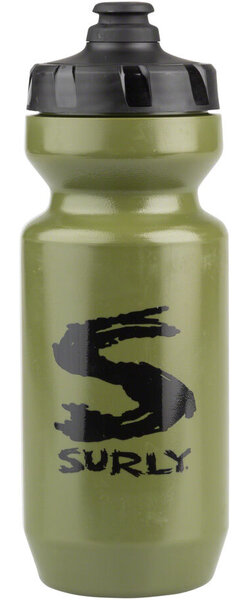 Surly Big S Purist 22 oz. Water Bottle - Green/Black