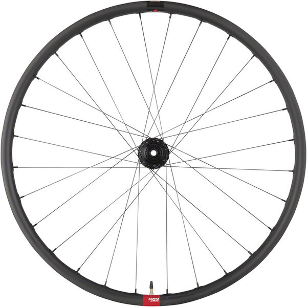 "Santa Cruz Reserve 30 Rear Wheel - 29"", 12 x 148mm, 6-Bolt, Black, Micro Spline, DT 350"