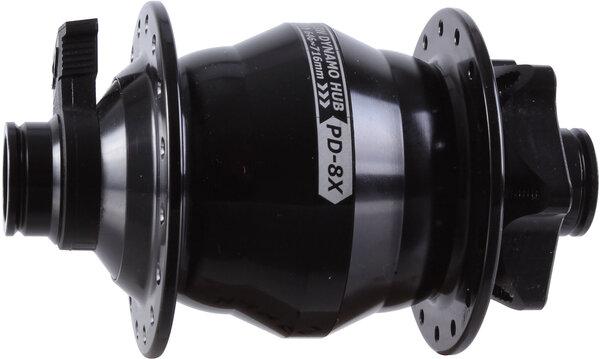 Shutter Precision PD-8X IS-Disc Front T-A Hub, 15x110mm, 32h - Black