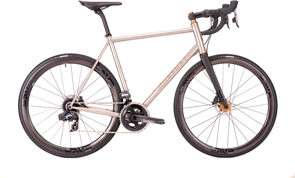 Northern Frameworks Titanium Road Bike - Force AXS - Chris King Matte Bourbon - 57.5cm