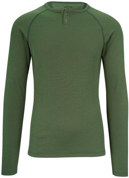 Velocio Men's Long Sleeve Merino 160 Baselayer - Olive Green