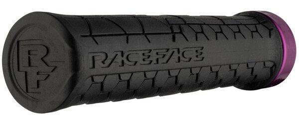 Race Face Getta Grip Lock-On Grips, (30mm) Black/Purple