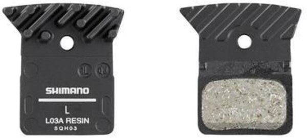 Shimano L03A Resin Disc Brake Pads With Cooling Fins