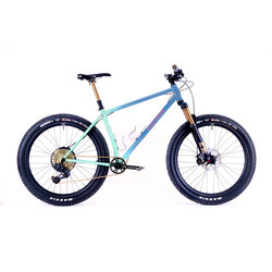 Northern Frameworks Custom Hardtail - Sea To Sky Fade - MD/LG 19