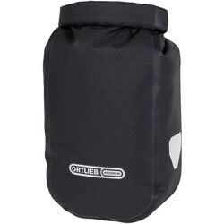 Ortlieb Fork Pack with Bracket - 3.2L, Roll-Top, Black