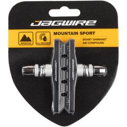 Jagwire Mountain Sport Brake Pads - Threaded Post, Black
