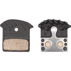 Shimano J04C Metal Disc Brake Pads with Fin