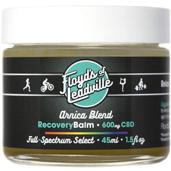 Floyd's of Leadville CBD Arnica Balm: Full Spectrum, 600mg, 45ml Container
