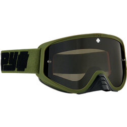 SPY+ WOOT RACE Goggles - Reverb Olive, Smoke with Black Spectra HD Clear Lenses