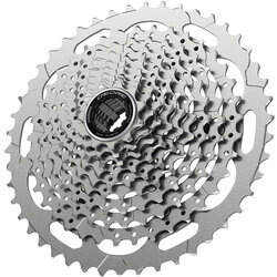 Shimano Deore CS-M4100-10 Cassette - 10-Speed, 11-46t, Silver