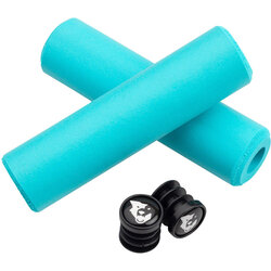 Wolf Tooth Components Fat Paw Grips - Teal