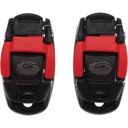 Sidi Shoe Replacement Caliper Buckle: Red/Black