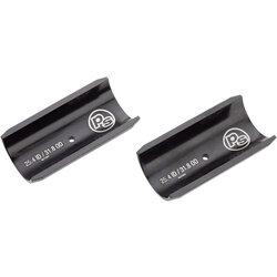 Problem Solvers Handlebar Shim - 25.4 to 31.8mm, 60mm length, Black