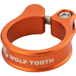 Wolf Tooth Components Orange Seatpost Clamp 34.9mm