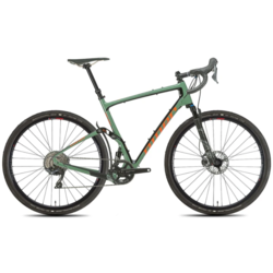Niner MCR RDO 4-STAR - OLIVE GREEN/ORANGE - GRX 800 1X