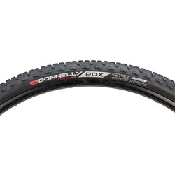 Donnelly Cycling PDX WC Tire - 700 x 33, Tubeless, Folding, Black, 240tpi