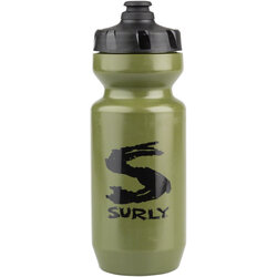 Surly Big S Purist 22 oz. Water Bottle - Green/Black
