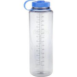 Nalgene Wide Mouth Water Bottle: 48oz, Clear Gray