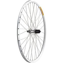 Quality Wheels LX/Dyad Rear Wheel - 700, QR x 135mm, Rim Brake, HG 10, Silver, Clincher