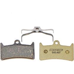 Braking Italy Disc Pads, Hope V4 - Carbo-Metallic