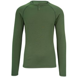 Velocio Men's Long Sleeve Merino 160 Baselayer - Olive Green