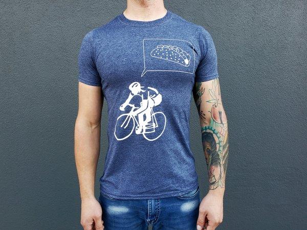 CyclePath Tee Shirt Taco Navy Blue