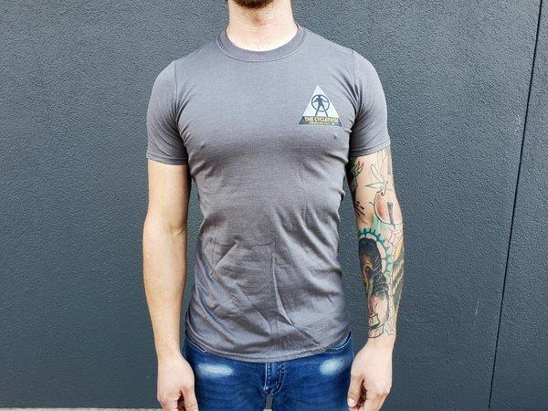 CyclePath Tee Shirt CP Wars Charcoal