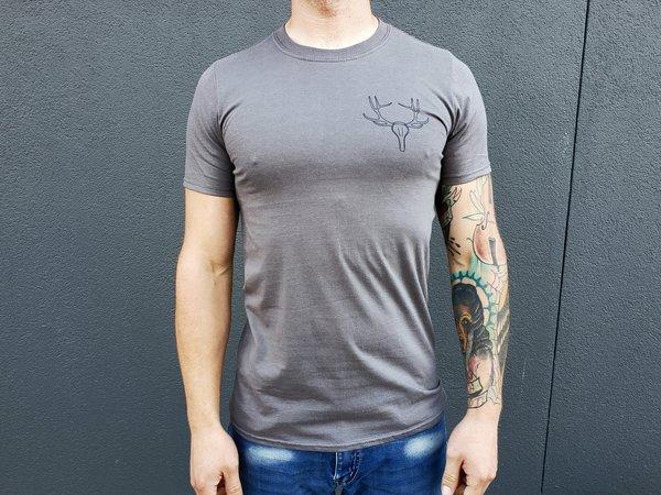 CyclePath Tee Shirt Antler Charcoal