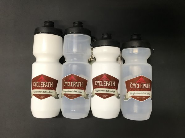 CyclePath Purist Water Bottle Cycle Path Logo
