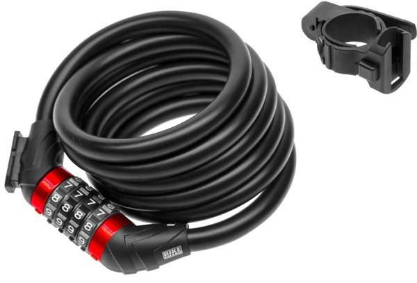 Bike-Guard Rockzilla 1218 Combo Cable Lock